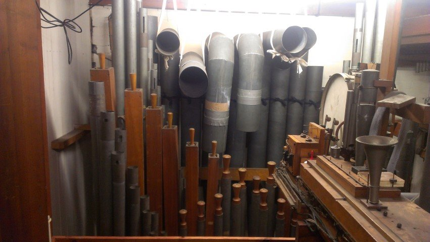 Ranks of pipes